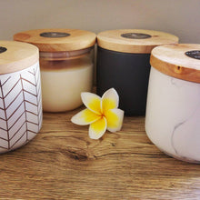 Herringbone White & Gold Canister 400ml