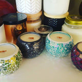Red Mosaic - Woodwick Soy Candles by Pure Tranquility Candles - Pure Tranquility Candles