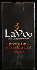 LAVOO COCO CHARCOAL 96 PIECES