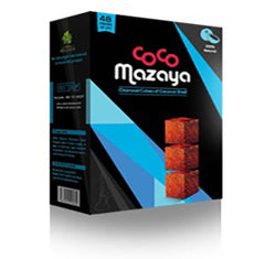 COCO MAZAYA CHARCOAL 48 PIECES
