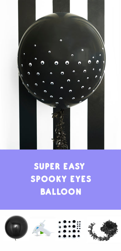 DIY Halloween Balloon so Easy and SPOOKY!
