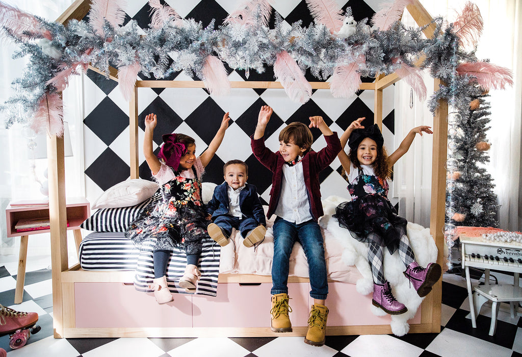 Nico and Yeye | @babyellestyle | Modern kids furniture |  Domo Zen Twin Bed | Los Angeles CA