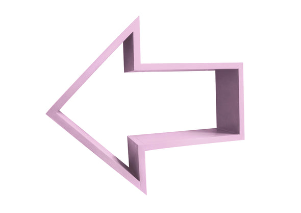 Modern Kids Furniture Arrow Shelf - nicoandyeye.com