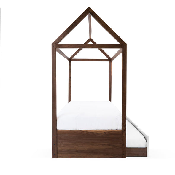 Modern Kids Furniture Domo Zen Bed with Trundle - nicoandyeye.com