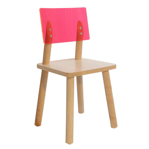 AC/BC -Acrylic BaCk Kids Chair (set of 2)