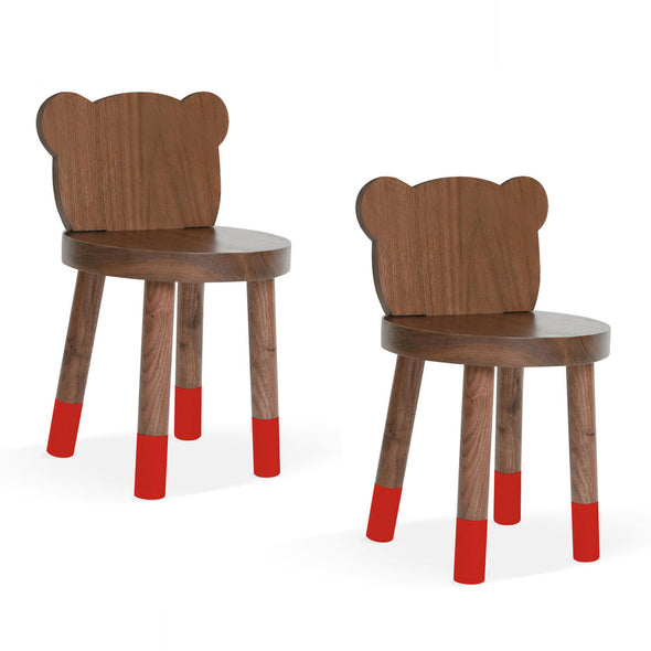 Baba Bear Solid Wood Kids Chair (set of 2)