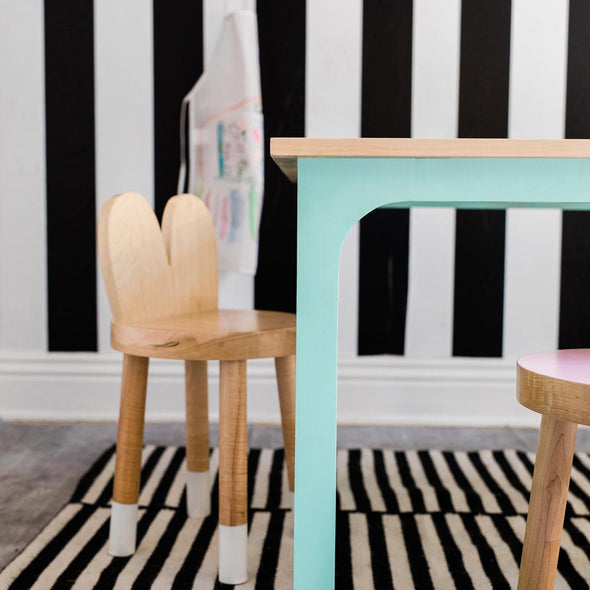 Modern Kids Furniture Lola Solid Wood Kids Chair (set of 2) - nicoandyeye.com