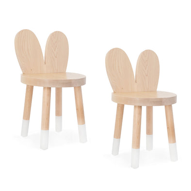 Lola Solid Wood Kids Chair (set of 2)