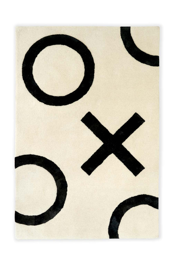 Modern Kids Furniture XO Kids Rug - nicoandyeye.com