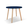 Nico & Yeye - Wood Furniture for Kids - Round kids table and chairs | Maple- Black