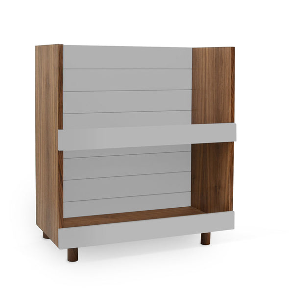 Modern Kids Furniture Minimo Modern Kids Bookcase - nicoandyeye.com