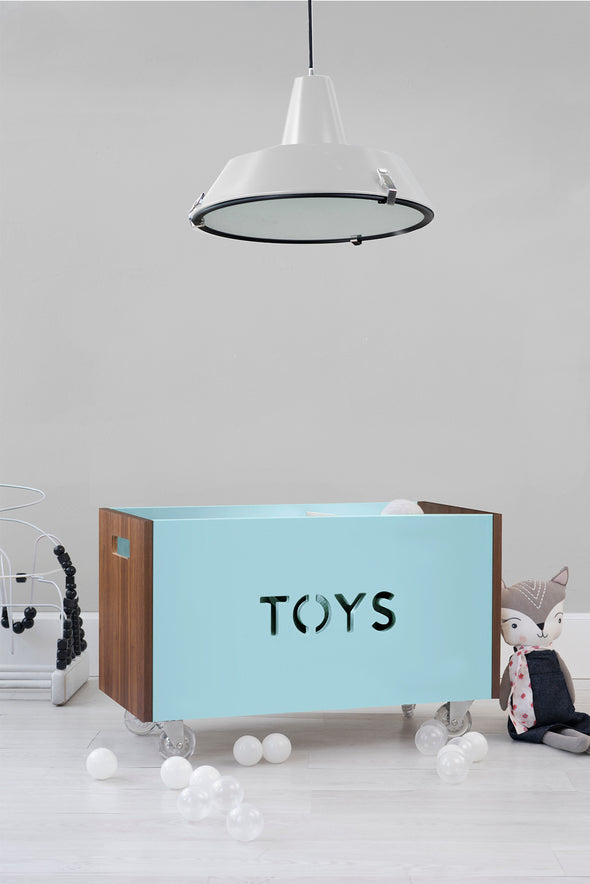 Toy Box Chest on Casters