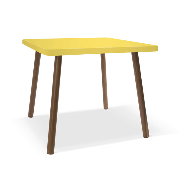 Modern Kids Furniture Tippy Toe Square Kids Table - nicoandyeye.com