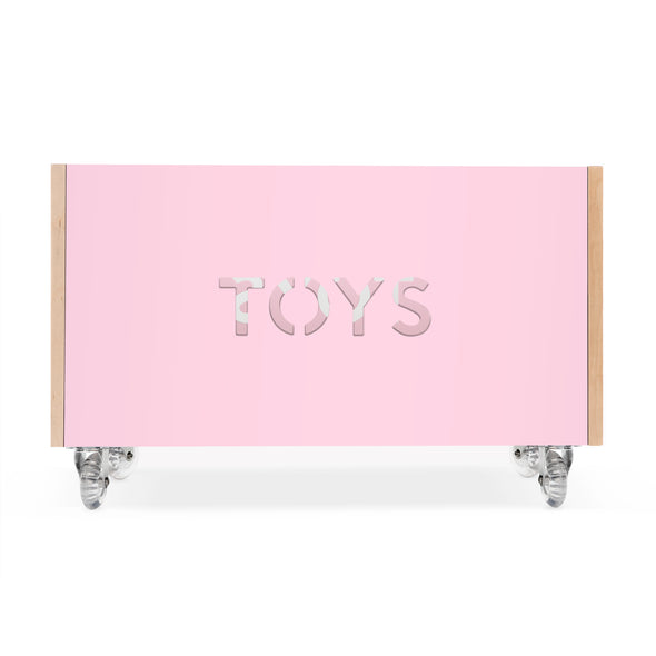 Toy Box Chest on Casters - nicoandyeye.com