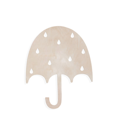 Nico and Yeye maple umbrella wall decoration_Wood art