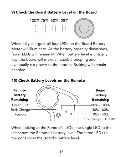 how to read charge