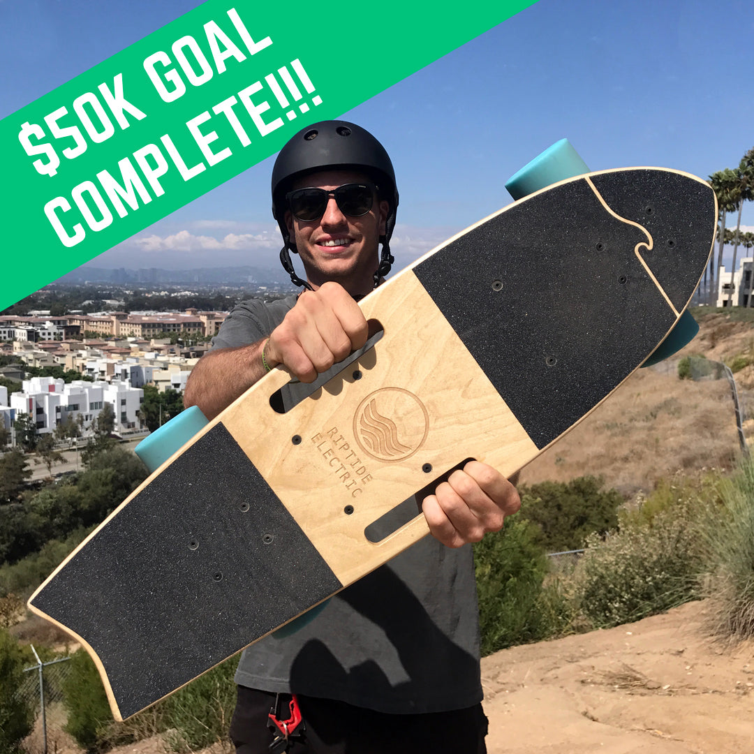 electric skateboard goal