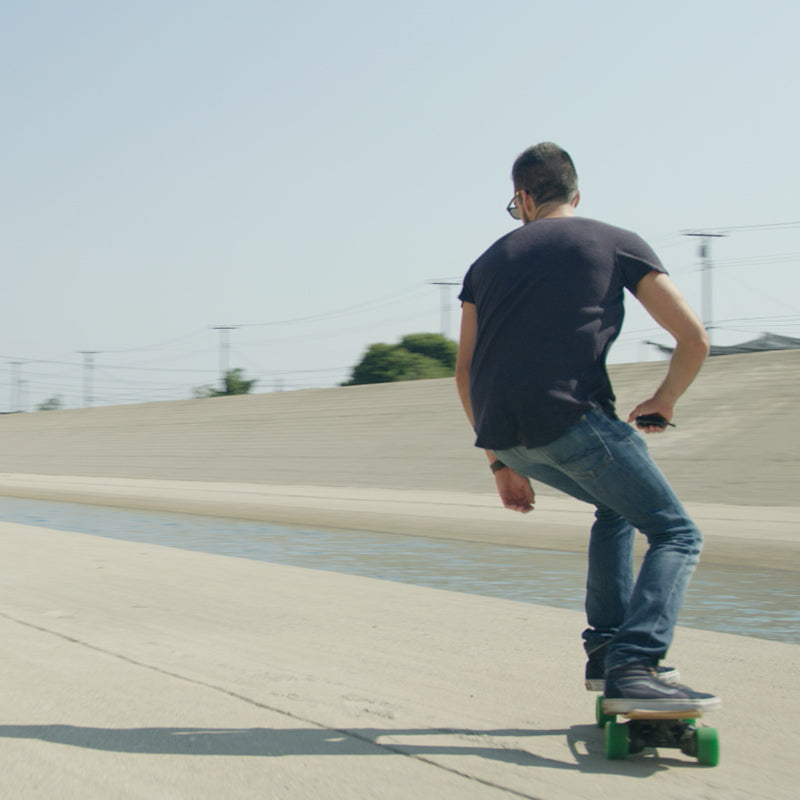 powerful electric skate board