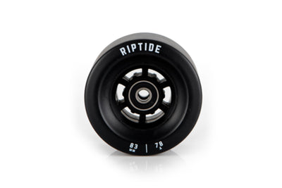 83mm black wheel electric skateboard