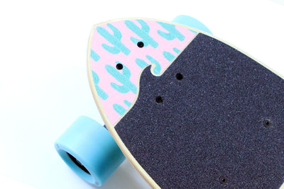 Electric skateboard nose