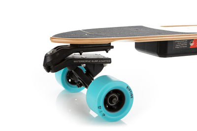 electric skateboard with adapter