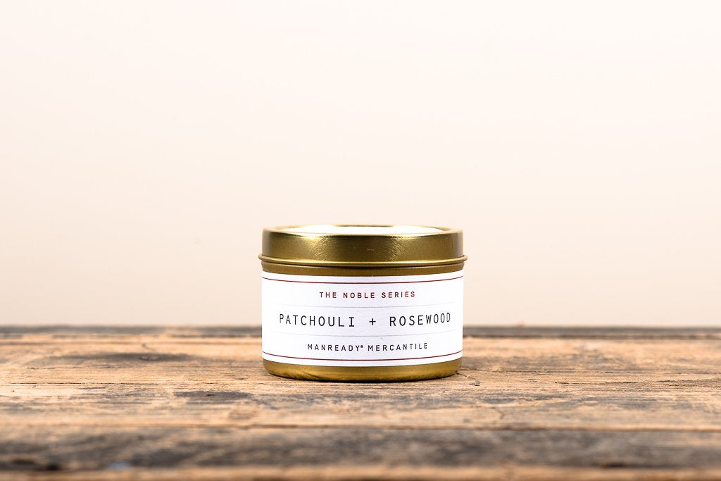 The Noble Series Soy Candle | Travel Size | Patchouli + Rosewood