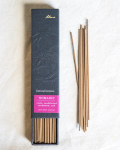 Nomadic (Roots, Sandalwood, Cardamom, Oud) | Natural Incense