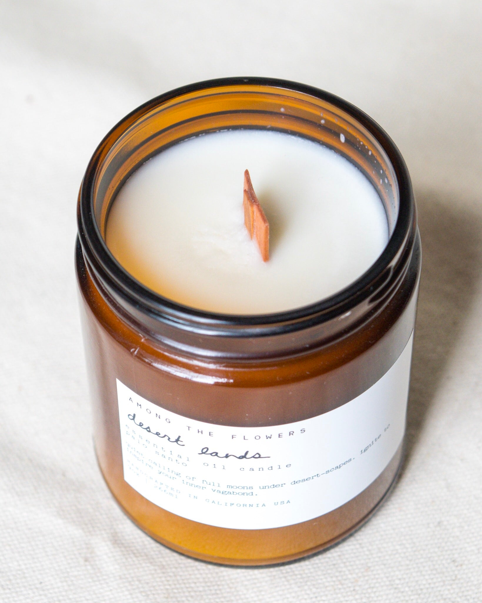 Essential Oil + Soy Wax Candle | Desert Lands