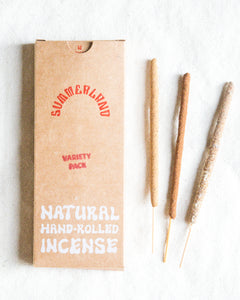 Hand-Rolled Incense Sticks | Variety Pack