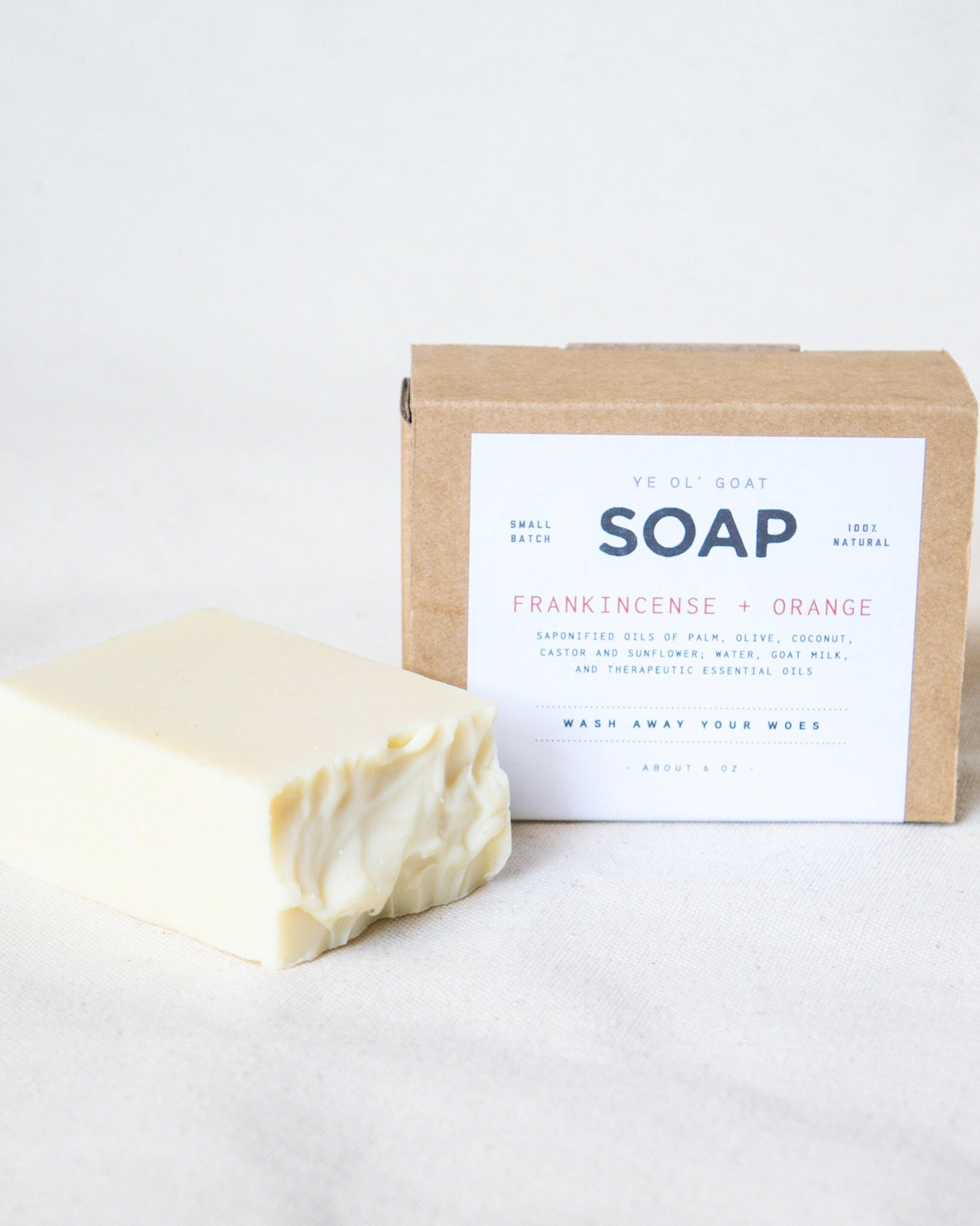 Ye Ol' Goat Soap - Frankincense + Orange