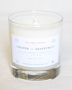 Noble Series Soy Candle | Juniper + Grapefruit