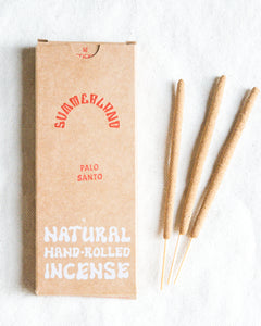 Hand-Rolled Incense Sticks | Palo Santo