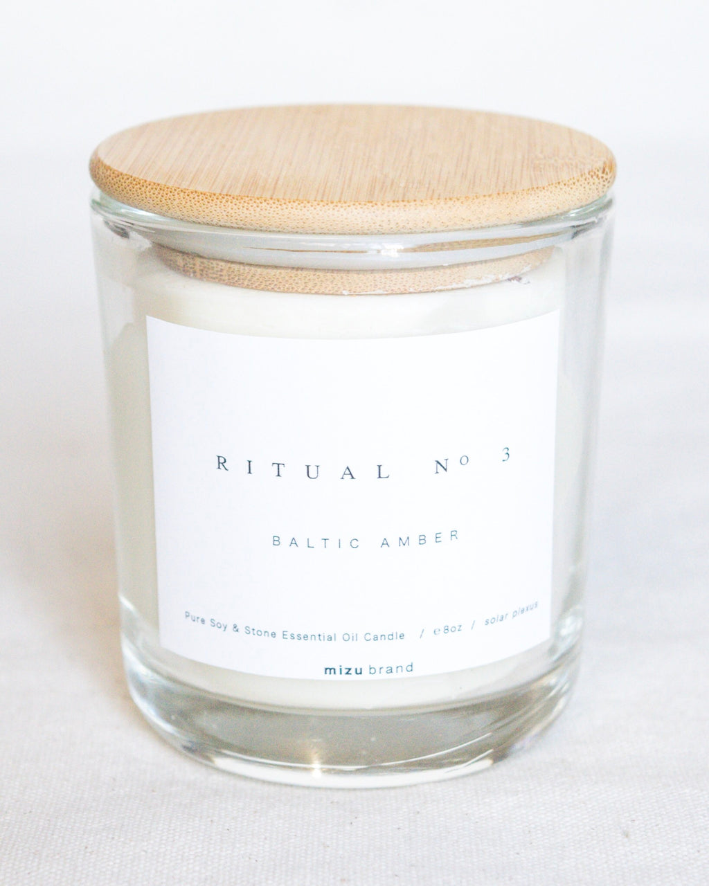 Essential Oil Candle | Baltic Amber
