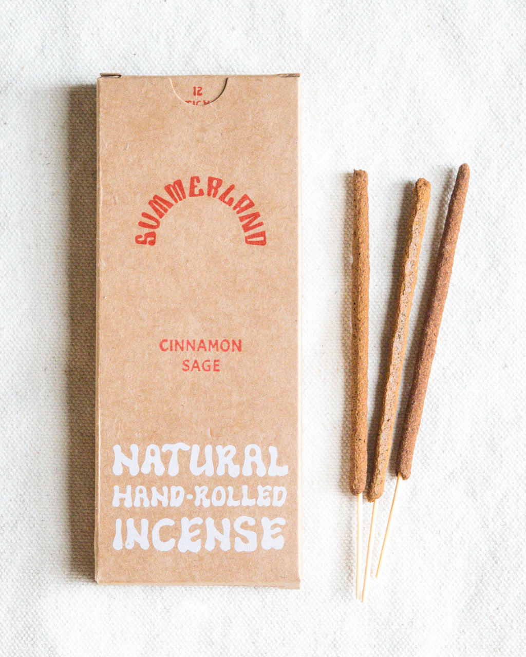 Hand-Rolled Incense Sticks | Cinnamon Sage