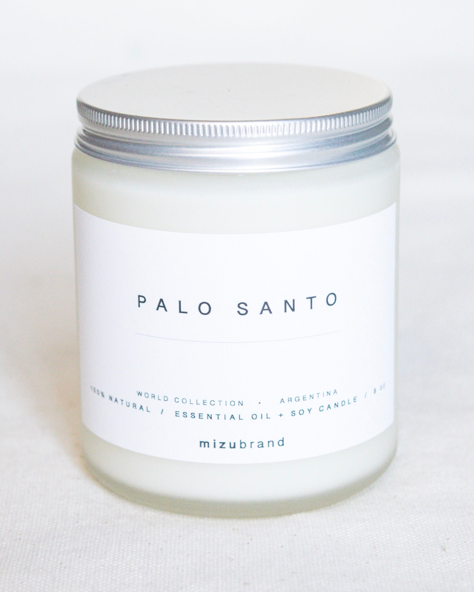 Essential Oil Candle | Palo Santo