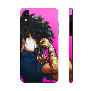 Naturally the Riveter PINK Case Mate Tough Phone Cases
