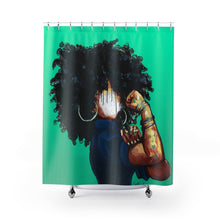 Naturally the Riveter TEAL Shower Curtains
