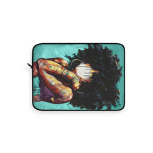 Naturally II TEAL Laptop Sleeve