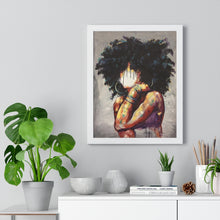 Naturally II Premium Framed Vertical Poster