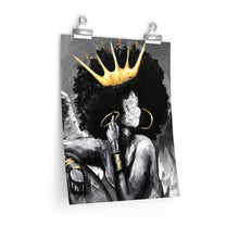 Naturally Queen IV ANGEL Premium Matte vertical posters