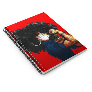Naturally the Riveter RED Spiral Notebook - Ruled Line