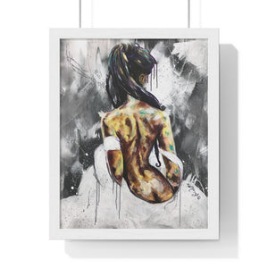 Undressed VI Premium Framed Vertical Poster