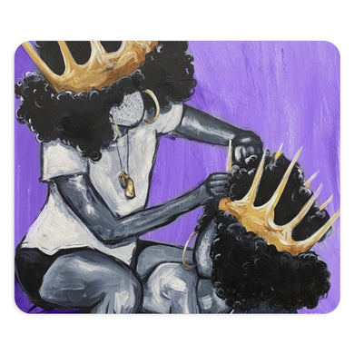 Naturally Queens I Purple Mousepad