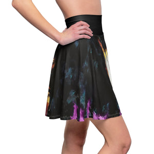 Naturally II PINK Women's Skater Skirt