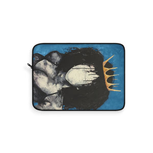Naturally Queen BLUE Laptop Sleeve
