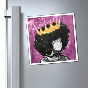 Naturally Queen II PINK Magnets