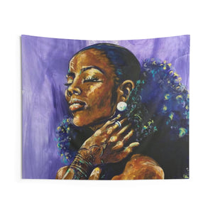 The Girl with the Pearl Earring Indoor Wall Tapestries