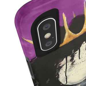 Naturally Queen PURPLE Case Mate Tough Phone Cases
