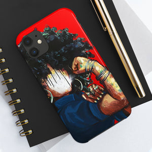 Naturally the Riveter RED Case Mate Tough Phone Cases