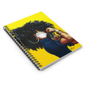 Naturally the Riveter Spiral Notebook - Ruled Line